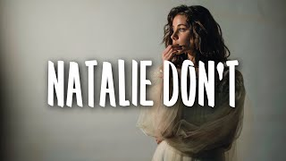 RAYE - Natalie Don't (Lyrics)