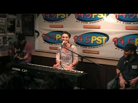 Sara Bareilles performs Love Song in the PST Live Lounge