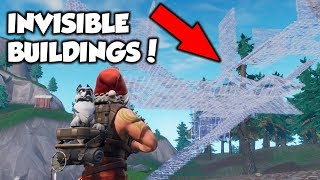 *WALL HACKS* Make Completely INVISIBLE Buildings (Fortnite)