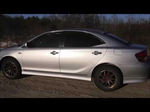 Toyota Allion на шинах 205/60 R16. Эксплуатация, реальный отзыв о плюсах данных шин.