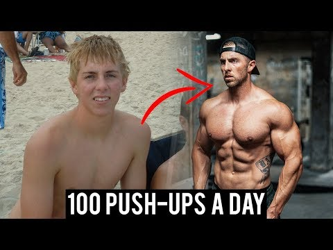 This Guy Has Done 100 Press-Ups a Day, Every Single Day, for 10 Years