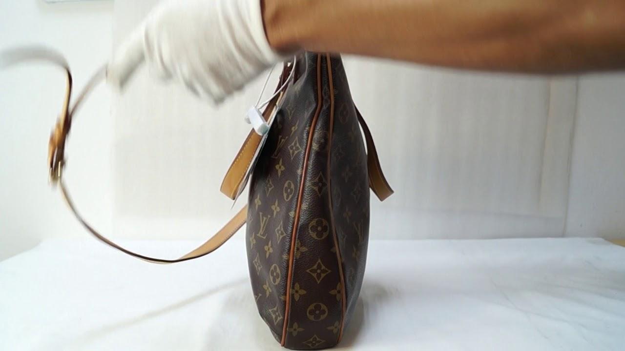 99616f07a LOUIS VUITTON Odeon GM Monogram Canvas Shoulder Bag TT2703 - YouTube