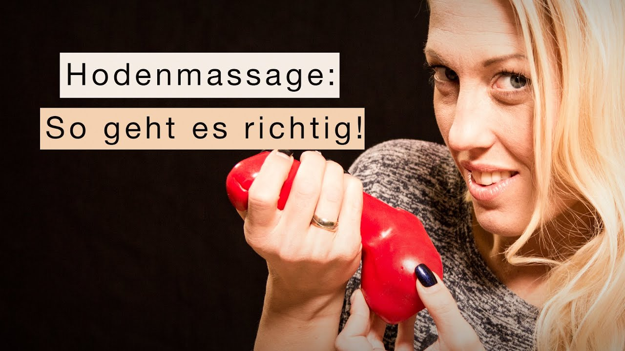 Hodenmassage - so funktionierts! - YouTube