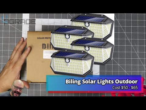 Biling Solar Lights
