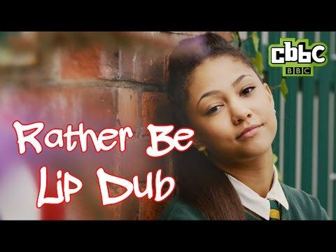 4 O'Clock Club - Clean Bandit ft. Jess Glynne 'Rather Be' Lip Dub - CBBC