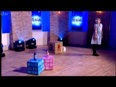 Matilda the Musical performance on ITV's This Morning