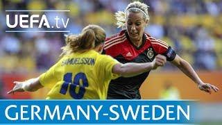 Sweden v Germany at Women
