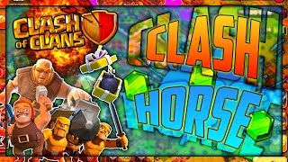 PLAYING HORSE IN CLASH OF CLANS? - Clash Horse Ep. 1