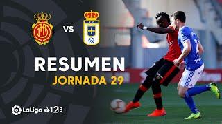 Resumen de RCD Mallorca vs Real Oviedo (1-0)