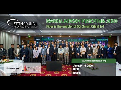 Bangladesh FIBERTalk 2020 by FTTH Council Asia-Pacific