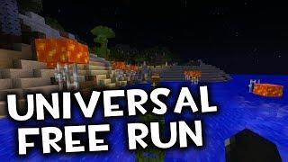 MINECRAFT: UNIVERSAL FREE RUN