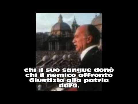 Canto degli italiani - La-Destra - Inno M.S.I.