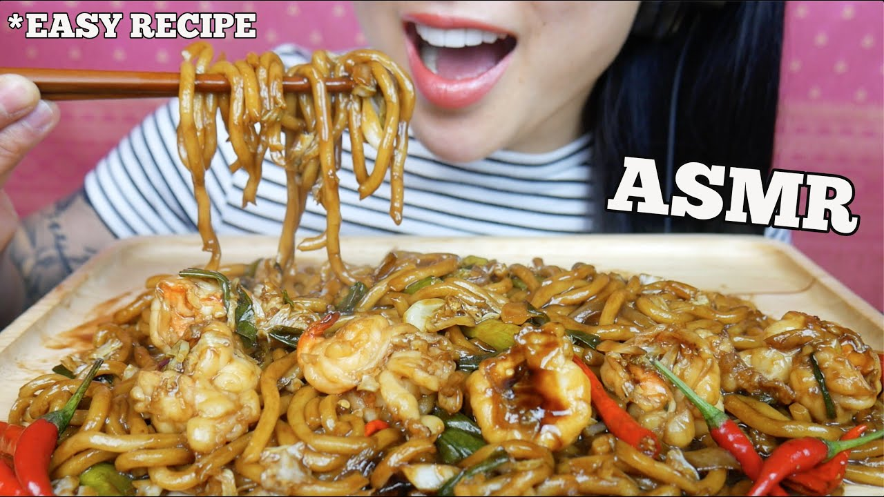 Asmr Easy Recipe Prawns Stir Fry Teriyaki Udon Noodles Eating Sounds No Talking Sas Asmr Youtube Easy mochi ingredients:1 cup of sweet rice flour1/2 cup sugar (you can put more if you want it sweeter)1/3 cup of watercornstarch for dustingparchment paperb. asmr easy recipe prawns stir fry teriyaki udon noodles eating sounds no talking sas asmr