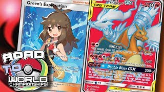 TOP DECK Reshiram & Charizard GX with Volcanion and GREEN'S EXPLORATION! [Pokemon TCG Online]