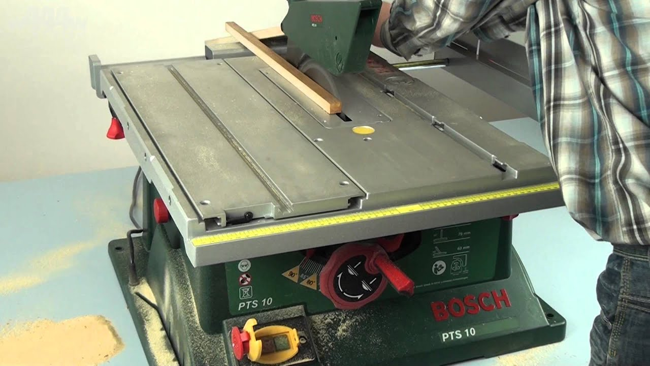 bosch pts 10 table saw w444w eng doovi. Black Bedroom Furniture Sets. Home Design Ideas