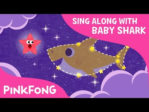 Twinkle Twinkle Little Shark | Sing along with baby shark | Pinkfong Songs for Children