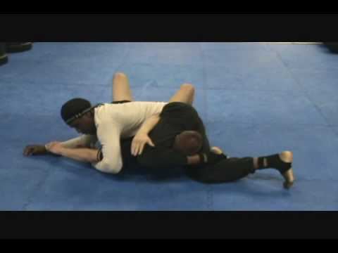 Inverted Triangle Choke from Side Control