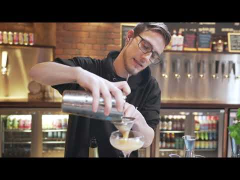 Passionflower Martini - Coupe Glass- Gin and the Perfect Pairing e-learning course by CPL Learning.