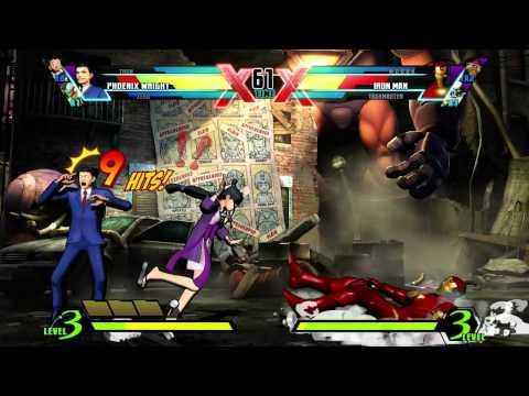 Ultimate Marvel vs. Capcom 3: Phoenix Wright