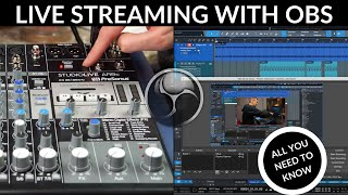 How to Live Stream with PreSonus StudioLive AR and ARc Mixers