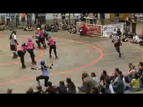 Carolina Rollergirls Home Season Best Hits 2008