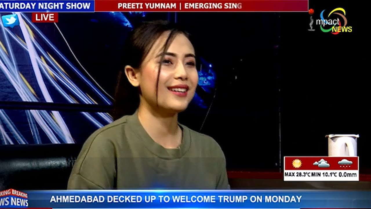 PREETI YUMNAM | EMERGING SINGER LYRICIST On Manung Hutna 22 February 2020