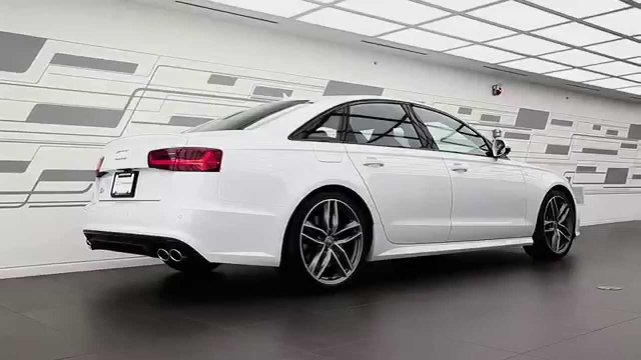 2016 Audi S6 The Business Sedan With The Dynamics Of A