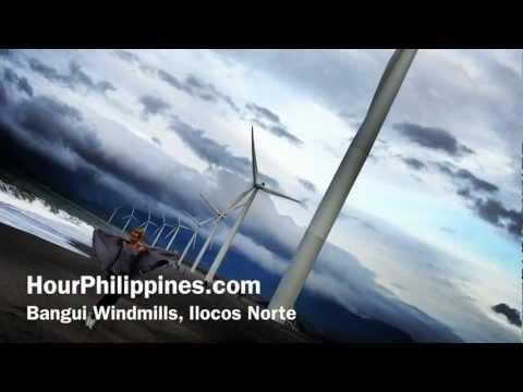 Bangui Windmills Ilocos Norte Bangui Beach South China Sea by HourPhilippines.com