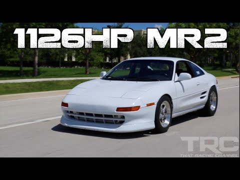 Toyota MR2 World Record 1126HP - 'White Lightning'
