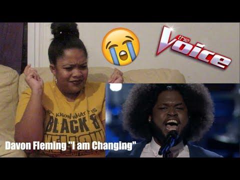The Voice 2017 Davon Fleming- The Playoffs