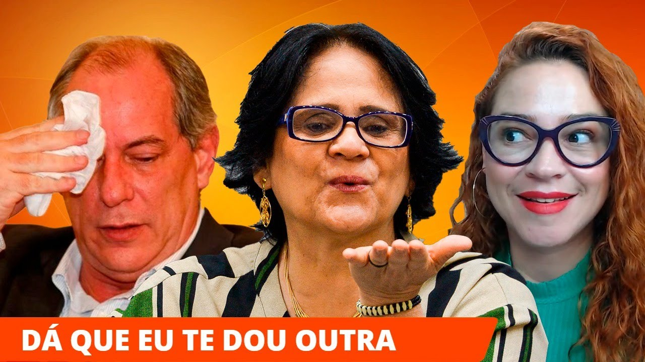 DAMARES ENQUADRA CIRO GOMES