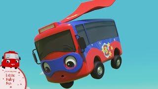 Superhero Buster is BACK!   Little Baby Bus   Kids Cartoons   Children's Stories