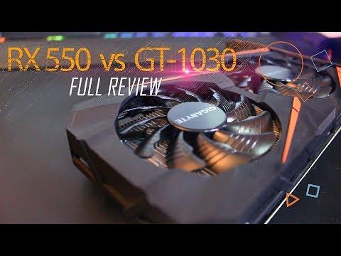 مراجعة RX 550 قاهر ال GT 1030 - افضل كارت في الفئة الاقتصادية ام اهدار للمال