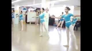 Урок классического танца средняя группа, программа танцевальных номеров.