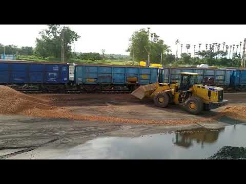 Our Quartzite Rake Loading at Kantakapalli Railway Siding
