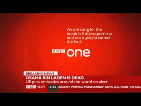 Techincal difficulties on BBC News-May 2011
