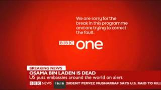 Techincal difficulties on BBC News-May 2011