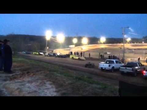 Racing at Camden speedway