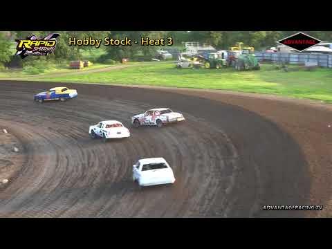 Hobby Stock Heats - Rapid Speedway - 7/6/18
