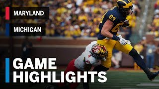 Highlights: Maryland Terrapins vs. Michigan Wolverines | Big Ten Football