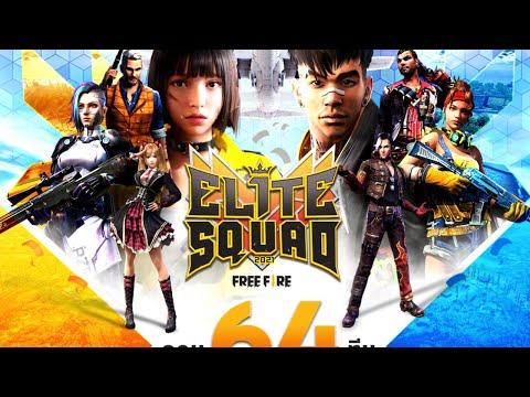 Free Fire Elite Squad 2021 : Qualifier Round 5 / 64 Team