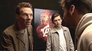 Tom Holland and Benedict Cumberbatch Plays Pictionary