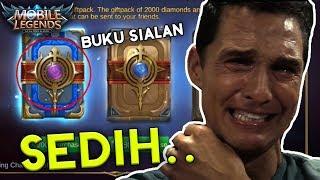 buka buku 2000 diamond eh dapetnya ginian mobile legends indonesia 7