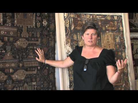 Studio Visit VIdeo:  Barbara Koenen's War Rug Project
