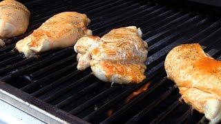 Grill Delicious Stuffed Buffalo Chicken Breasts