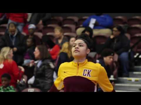 Khadija \u0026 Klarke Dominates against Scanlan For The CHSAA AA State Championship