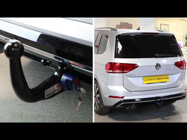 Volkswagen Touran R Line | Detachable Towbar