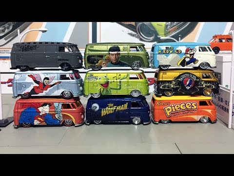 Hot Kustoms Collection Hot Wheels Vw T1 Panel Bus Youtube