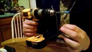 UNSPOOLING LINE FROM A FISHING REEL THE REDNECK WAY