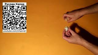 Бижутерия Кольцо с белым цирконом. Посылка из китая.